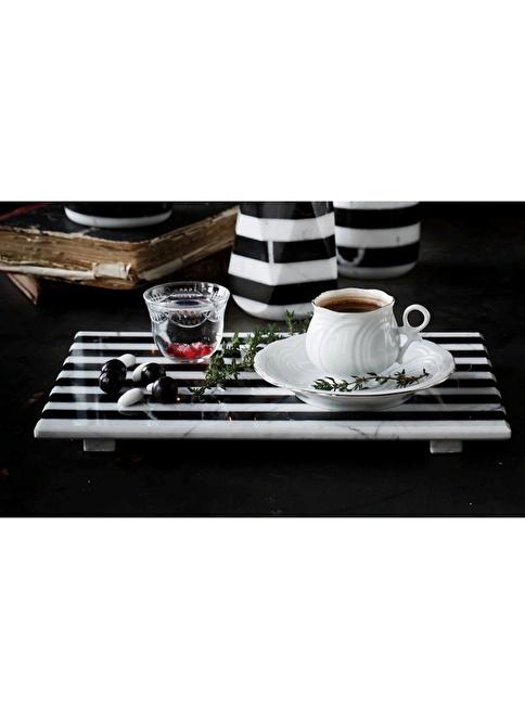 Mat For Home Zebrino Mermer Servis Tabagi Renkli